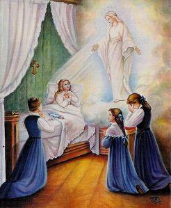 Erscheinung der Jungfrau des Lächelns vor der hl Therese von Lisieux
