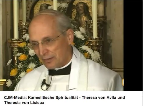 Karmelitische Spiritualität. Vortrag von P. Mag. Werner Schmid