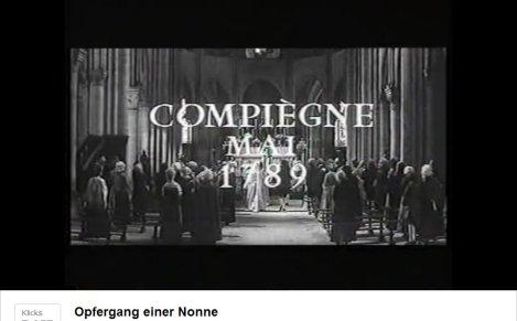 """Film """"Opfergang einer Nonne"""", Frankreich 1951"""