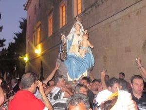 Prozession Unserer Lieben Frau vom Berge Karmel in Haifa